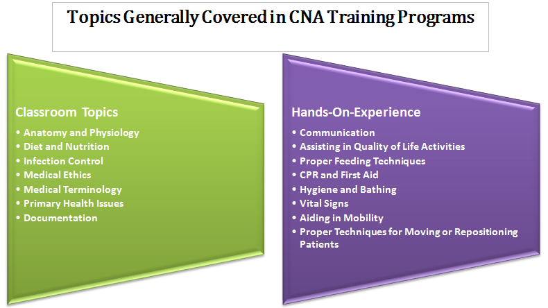 What is Covered in CNA Programs